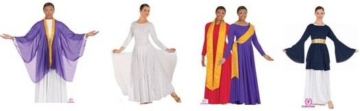 Praise  /  Liturgical  /  Worship Dancewear CLEARANCE