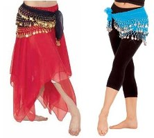 belly dance chiffon & hip skirts