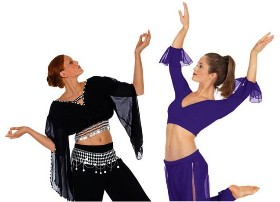 belly dance tops