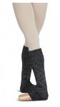 capezio - 10380 metallic sheen adult 18 inch legwarmers