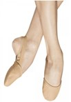 bloch s0607l ladies revolve leather split sole ballet slippers