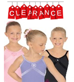 Eurotard 19284 Tiffany Child Camisole Leotard with Velvet Trim and Flower Detail - CLEARANCE