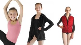 Bloch Tops, Vests, and Jackets