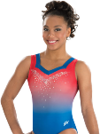 gk elite 3786 lady liberty gymnastics tank leotard