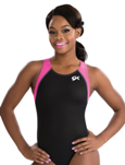 gk elite 3718 berry breeze gymnastics racerback leotard